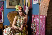 Frida Kahlo inspiration / Foto: www.andreamearelli.com Stylist: Bruno Lelli