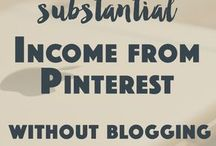 Income from Pinterest
