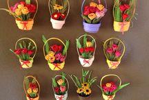 Narayan / Miniature paper roses