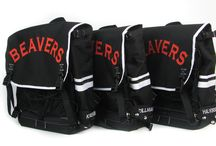 Black Star Polo Packs / The first hardcourt bike polo specific production backpack.