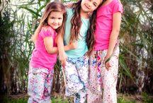 Kids Harem Pants pdf pattern.