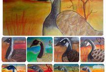 Art in school / Art classes with primary school children