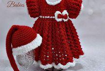 Christmas Baby/ girls dresses