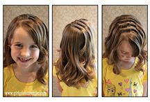 hairstyle for girls - lányka frizurák