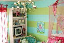 Girls bedrooms / Just cute ideas.