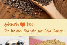 Rezepte mit Chiasamen