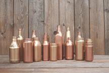 Copper & Bronze wedding concepts / Wedding ideas