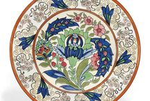 Rhead Pottery / Charlotte Rhead, Frederick Rhead, Frederick Hurten.
