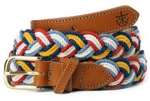 Mens Braided belts.