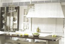 Cooking Spaces / Chef adorned rooms for sharing recipes and preparing time for family meals as well as for party events!