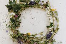 цветы, венки