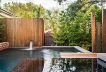 Fresh Garden / Lindas piscinas que invitan refrescarse y jugar