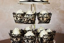 Cupcakes / Not Feeling the wedding cake? - Since many couples are foregoing the traditional cake idea. We've seen many now opting for cupcake towers, cake pops, pies and many other ideas instead.... this is a board for you guys!