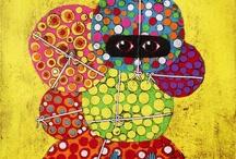 Gustavo Ortiz / The mixed media art of Argentinian artist Gustavo Ortiz