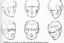 Disegno viso