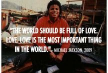 Michael loving Jackson / just showing Michaels loving, giving and innocent heart