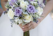 wedding purple and w