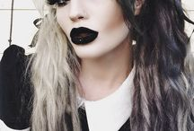goth clothing, makeup and stuff