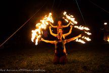 Fire Show! / Fire show at Mountain Fair!