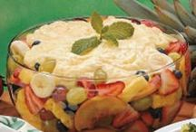 Food - Sweets/Fruit First / Dessert ideas using fruit as the first and primary ingredient. / by Donna Loves Yarn
