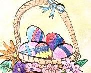 Easter Art / We are ready for Easter with oodles of crafts for you to do. Be challenged and inspired at: http://www.ezyshaid.com/inspiration.php