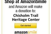 We smile with AmazonSmile donations / Amazon will donate 0.5% of the price of your eligible AmazonSmile purchases to Chisholm Trail Heritage Center Association whenever you shop on AmazonSmile. Be sure to pick us as your charity (nonprofit) for donations.