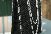 KNITTED BAGS MUM