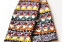 KNIT: pattern mittens