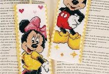 cross stitch for kids/krížiková výšivka pre deti / Disney, Hello kitty, Smurfs, Sponge Bob.... - vyšívané obrázky s motívmi pre detičky....