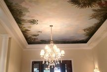 Murals / Handpainted detail, scenic, and trompe loiel