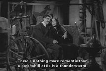 Morticia and Gomez / The best but strange couple that we love and adore.