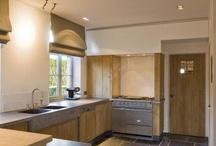 Keuken / hoekkast volledig en schouw