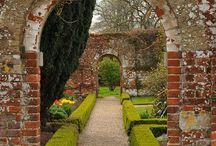 Inspiration: Walled Gardens / All about our love of walled gardens.