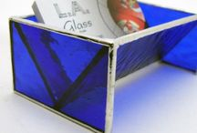 Stained Glass Business Cards Holders