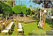Boda Jose & Raquel / Raquel quería una boda romántica y original, nuestro toque especial... Las bombillas!!