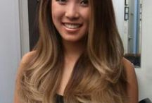 Couleur cheveux asiatique