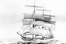 """Barca de tres palos """"Kynance"""" (1895)"""