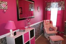 Bedroom Ideas / All things Pink and Zebra