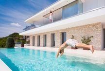 Villa Lombardo / Luxurious Living high above Lake Lugano in Ticino, Switzerland