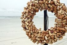 Recycle Wine Bottles and Corks!