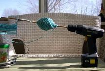 diy yarn ball winder