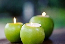 candles galore / by Jennifer Lee Myers