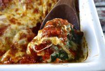 Spinach casseroles