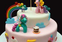 baked Pony / Lil pony   cakes and treats