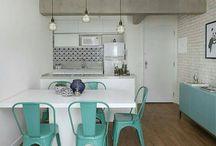 salas integradas a cozinha