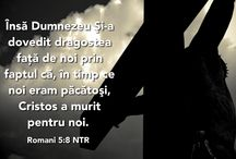 Graphics with Bible Verses in Romanian. / Graphics that have verses from the Bible in Romanian.