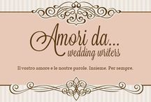 Logo / Amori da... Wedding Writers http://www.amorida.it/