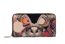 Wallet - Butterfly Effect / Women Leather Wallet, Limited Edition Designer Leather Wallet COLOURS OF MY LIFE - Limited Edition wearable art signed by Anca Stefanescu.