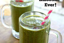 Healthy drinks/snacks