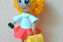 Foamiran Dolls мои куклы